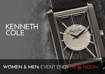 KENNETH COLE - WOMENS MENS WATCHES