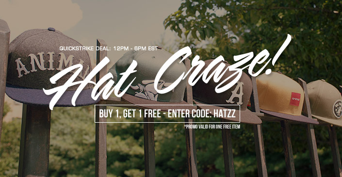 Hat Craze! Buy 1, Get 1 Free