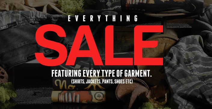 Everything Sale