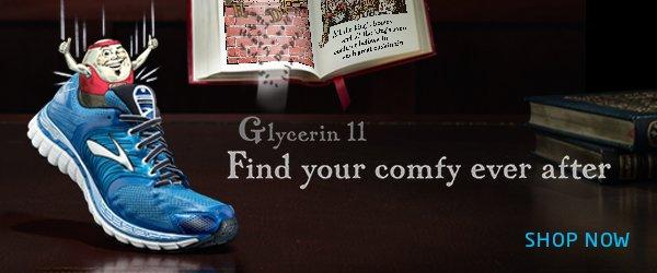 Brooks Glycerin 11 - find your comfy ever after