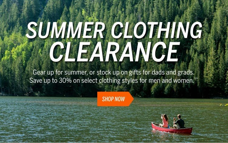 Summer Clothing Clearance