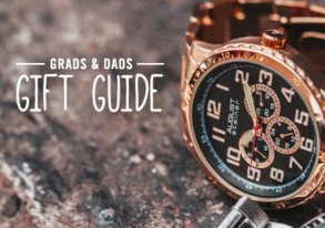 Shop Gift Guide: Grads & Dads