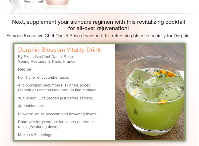 Darphin Blossom Vitality Drink