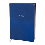 Blue Saffiano Leather Notebook
