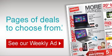 Pages  of deals to choose from.† See our Weekly Ad.