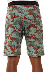 The Tropicamo Boardshorts in Army Fade