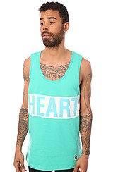 The Mind & Heart Tank Top in Pool Green