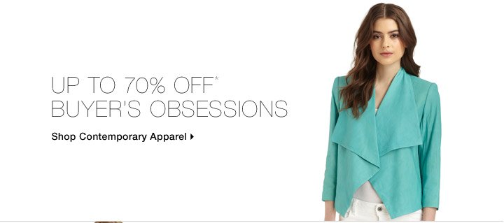 Up To 70% Off* Buyer's Obsessions