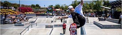 "$100k Raised by Ryan Sheckler's Foundation at ""Skate For a Cause"""