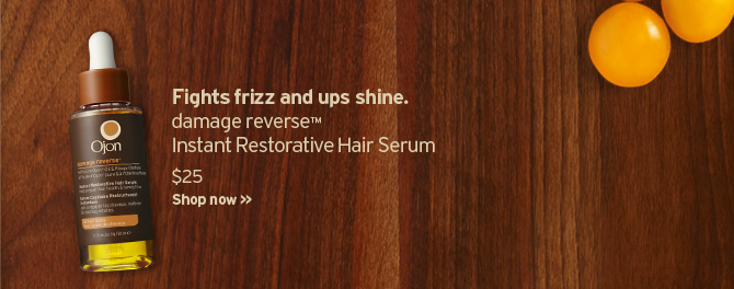Fights frizz and ups shine damage reverse Instant Restorative Hair  Serum SHOP NOW