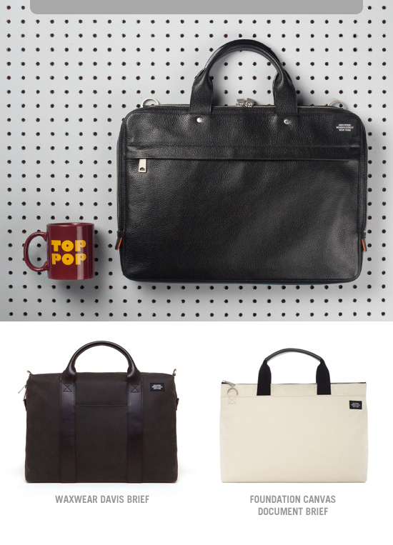 Father's Day Gift Guide. Briefcases Starting at 175 dollars.