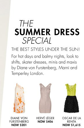 SUMMER DRESSES UP TO 65% OFF
