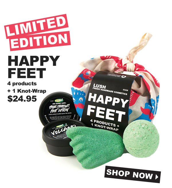 Limited Edition Happy Feet - Shop Now!