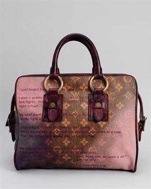 Louis Vuitton LU Monogram Canvas Jokes Tote Bag- Made in France