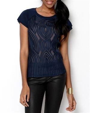 YAL New York Ribbon Design T-Shirt