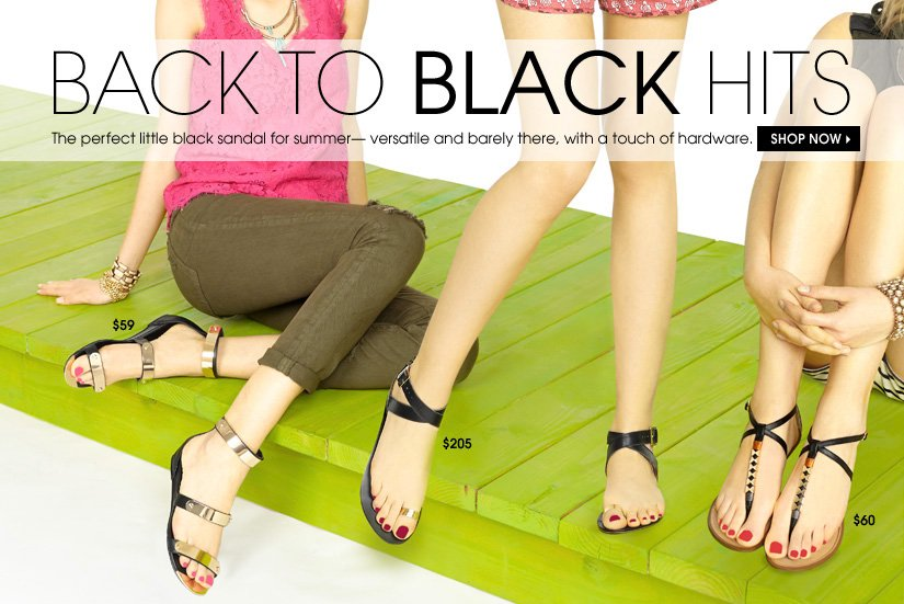 BACK TO BLACK HITS. SHOP NOW