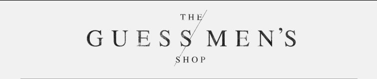 Guess Men's Shop