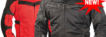 NEW! All Season Motorcycle Jacket by Xelement