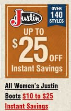 Shop All Womens Justin Boots