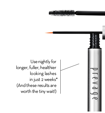 Use nightly for longer, fuller, healthier looking lashes in just 2 weeks*. (And these results are worth the tiny wait!)