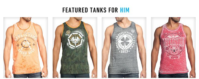 Featured Tanks For Him
