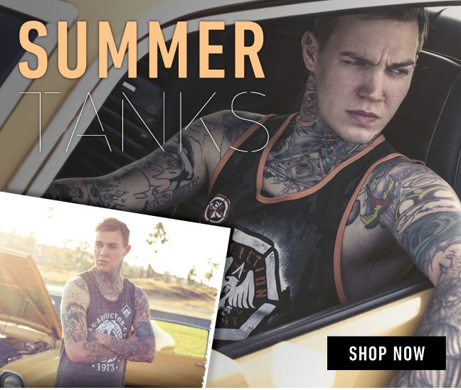 Affliction Tanks Back in Stock!