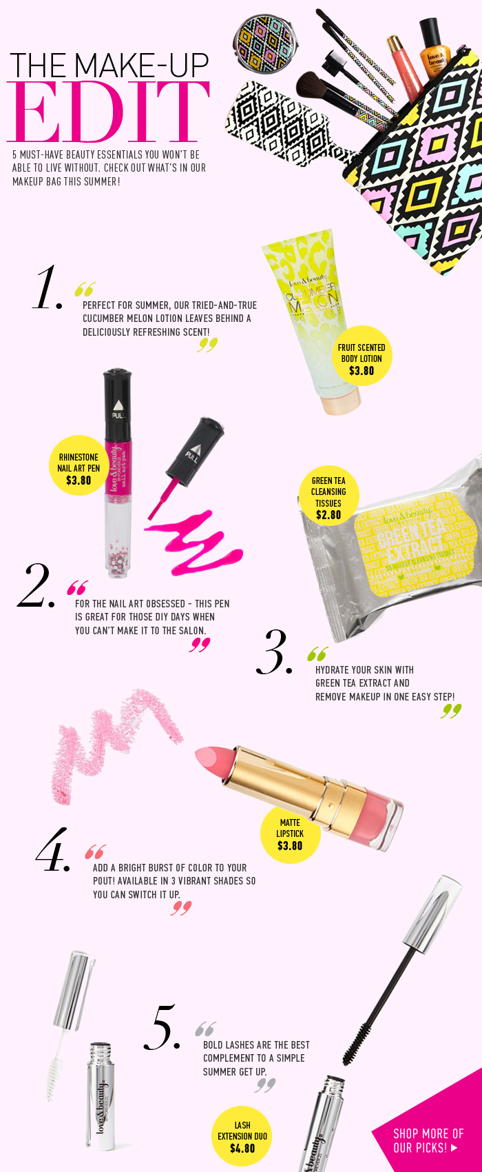 Just In! 5 Beauty Essentials You Can't Live Without! - Shop Now