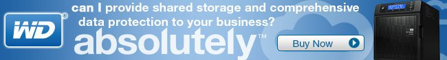 Western Digital: can I provide shared storage and comprehensive data protection to your business? Absolutely! BUY NOW!