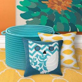 Turquoise & Yellow: Textiles