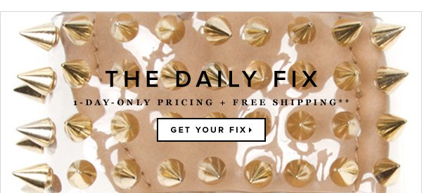 1-Day-Only Pricing + Free Shipping**