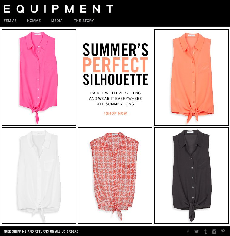 SUMMER'S PERFECT SILHOUETTE PAIR IT WITH EVERYTHING AND WEAR IT EVERYWHERE ALL SUMMER LONG >SHOP NOW