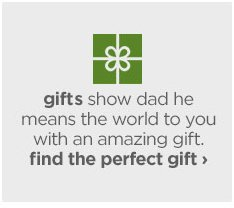 gifts show dad he means the world to you with an amazing gift.  find  the perfect gift ›