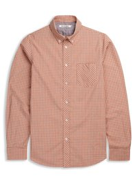 Laundered Marl Gingham Shirt