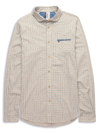 Laundered Tattersall Check Shirt