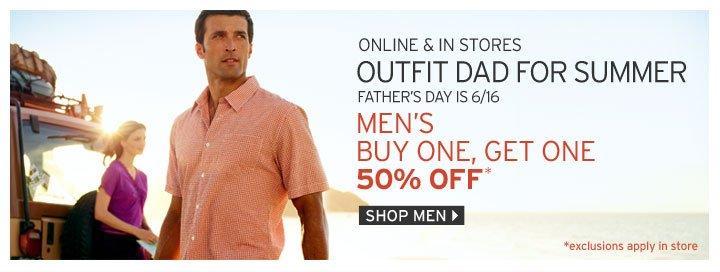 Shop Men's BOGO