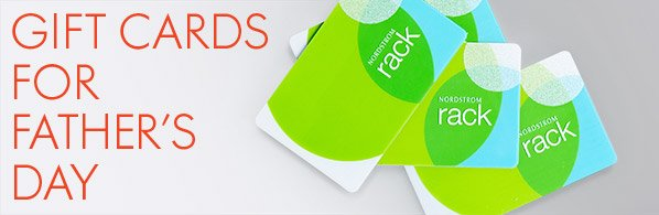 GIFT CARDS FOR FATHER'S DAY