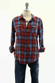 Joe's Jeans Plaid Shirt