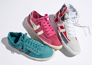 A Kick of Color: Sneakers