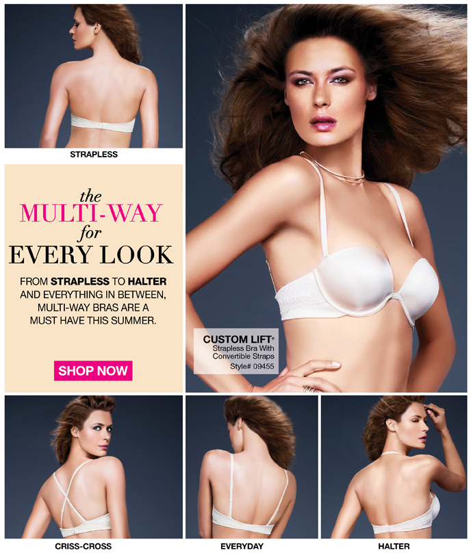 The Multi-Way for Every Look: From Strapless to Halter and Everything in Between, Multi-Way Bras are a Must Have this Summer