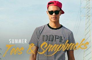 Summer Tees & Snapbacks