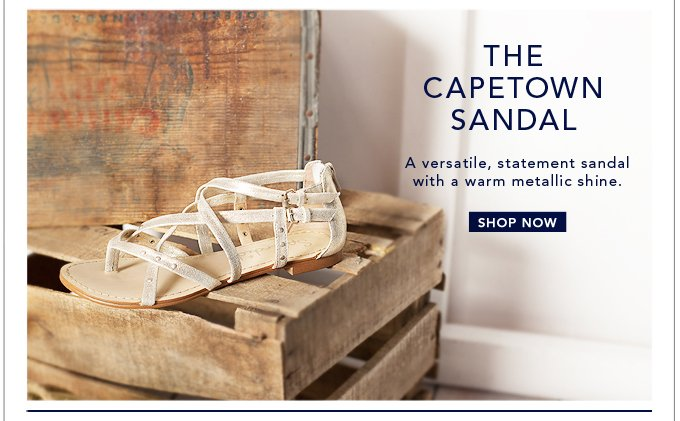 The Capetown Sandal - Shop Now