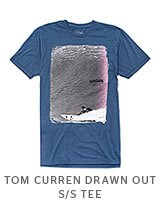 TOM CURREN DRAWN OUT S/S TEE