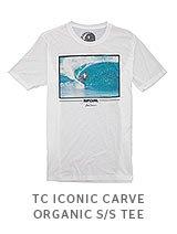 TC ICONIC CARVE ORGANIC S/S TEE