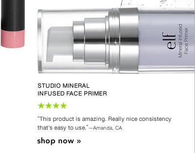 Studio Mineral Infused Face Primer