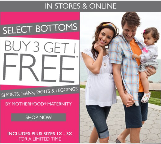 Buy 3 Get 1 Free Select Bottoms!
