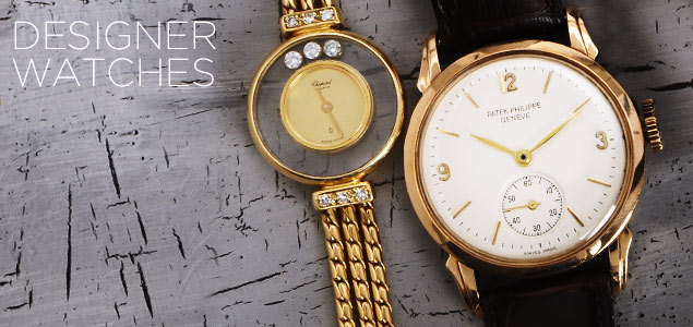 Luxury Watches: Patek Philippe, De Grisogono, Chopard & More