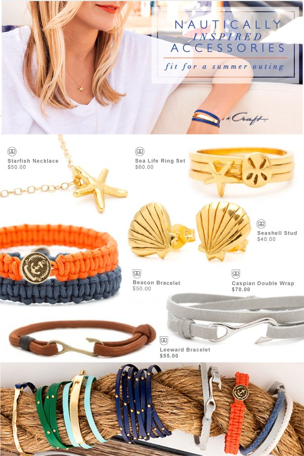 Nautically Inspired Accessories