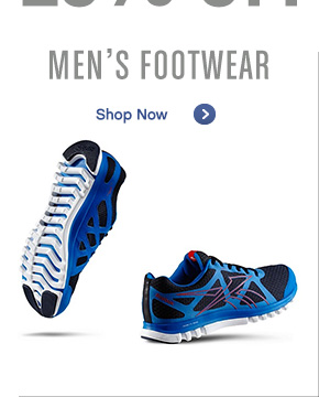 Men's Footwear. Shop Now »