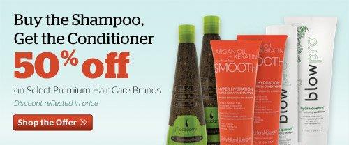 50% off Select Premium Conditioners