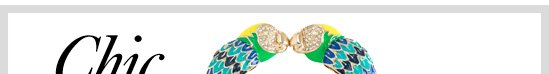 CHIC THIS WEEK What's on our style radar: Lovebirds Bangle